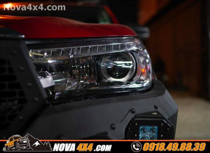 Nova 4x4 chuyên bán mâm độ cho xe bán tải Ford Ranger Wildtrak 2019